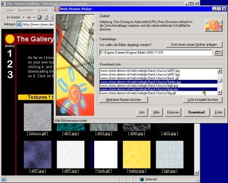 Screenshot für Web-Picture-Picker